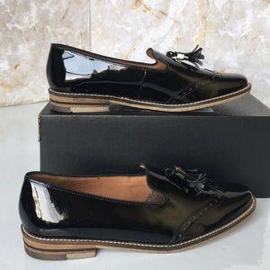 Ara Women's Kay 31252 Tassel Loafer Black Patent